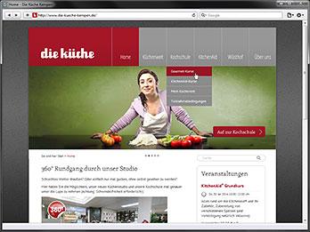 Die Küche Kempen | Portfolio Tasten Co Webdienstleistungen